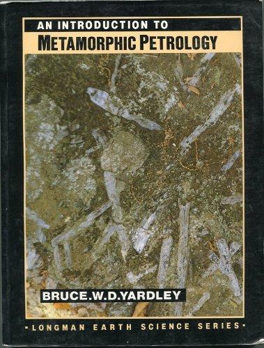 9780470211960: An Introduction to Metamorphic Petrology (Longman Earth Science Series)