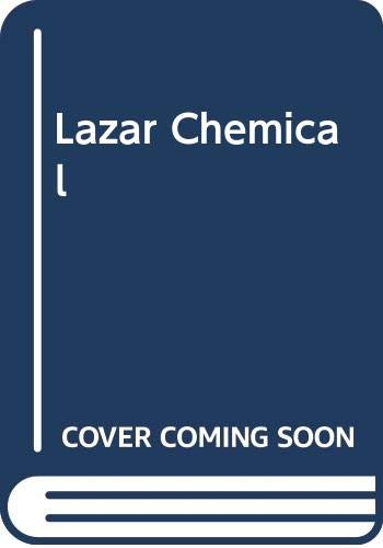 9780470212318: Lazar Chemical (Ellis Horwood Library of Space Science and Space Technology)