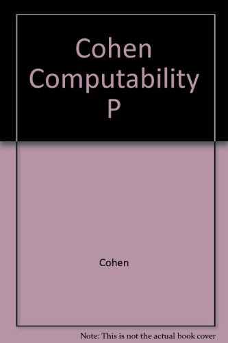 Cohen Computability P: Cohen