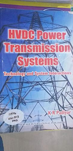 9780470217061: Hvdc Power Transmission Systems: Technology and System Interactions