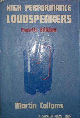 9780470217214: High Performance Loudspeakers