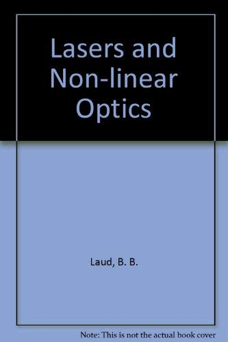 9780470217313: Lasers and Non-Linear Optics
