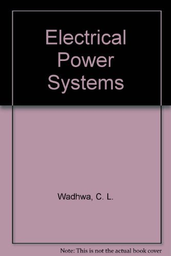9780470218082: Electrical Power Systems