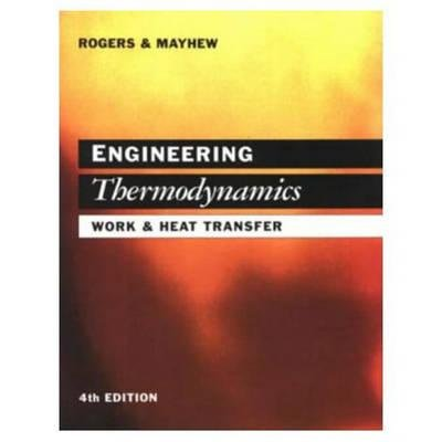 9780470218105: Engineering Thermodynamics Work and Heat Transfer