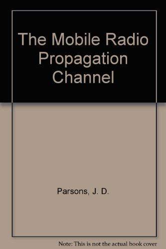9780470218242: The Mobile Radio Propagation Channel