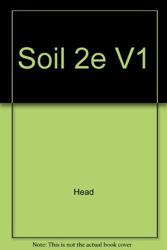 9780470218426: Soil 2e V1