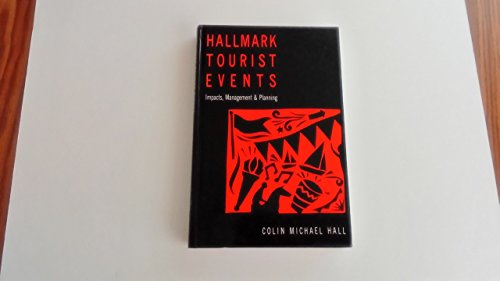 9780470219294: Hallmark Tourist Events: Impacts, Management and Planning
