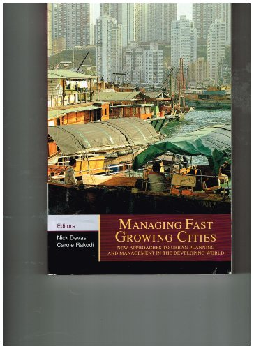 9780470220467: Managing fast growing cities: New approaches to urban planning and management in the developing world