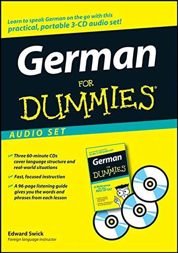 9780470222560: German For Dummies Audio Set