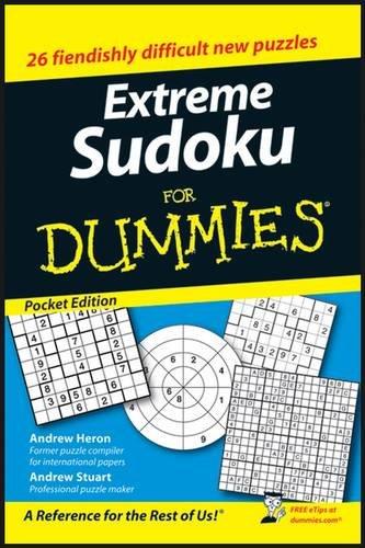 9780470224045: Extreme Sudoku For Dummies