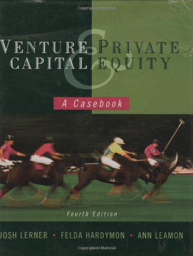 9780470224625: Venture Capital and Private Equity: A Casebook