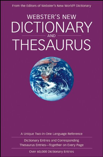 9780470224687: Webster's New Dictionary and Thesaurus