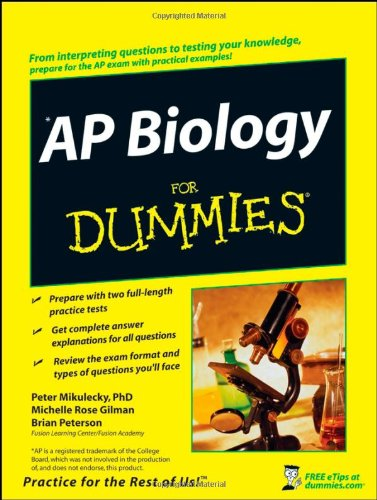 9780470224878: AP Biology For Dummies