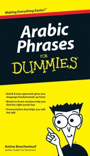 9780470225233: Arabic Phrases For Dummies