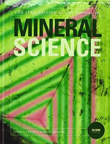 9780470226018: Manual of Mineral Science