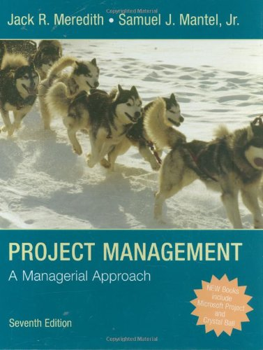9780470226216: Project Management: A Managerial Approach