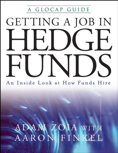 9780470226483: Getting a Job in Hedge Funds: An Inside Look at How Funds Hire