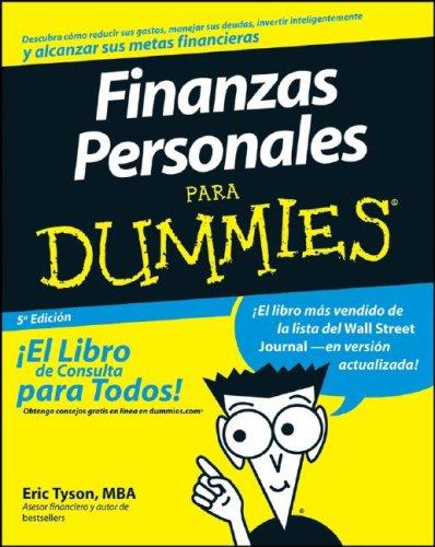 9780470227121: Finanzas Personales Para Dummies