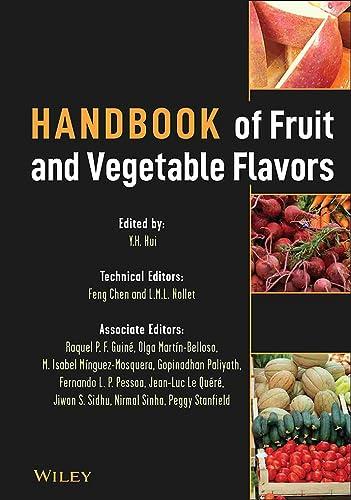 9780470227213: Handbook of Fruit and Vegetable Flavors