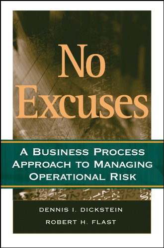 9780470227534: No Excuses: A Business Process Approach to Managing Operational Risk