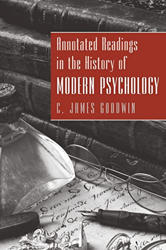 9780470228111: Annotated Readings in the History of Modern Psychology