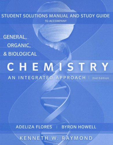 9780470228449: General, Organic and Biological Chemistry, Student Study Guide and Solutions Manual