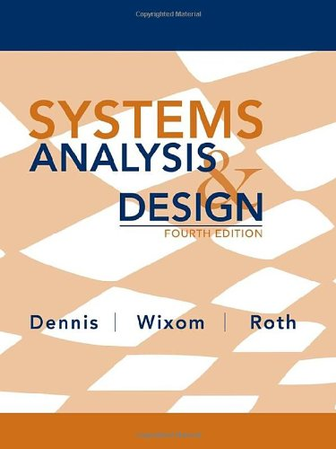 9780470228548: Systems Analysis and Design