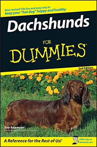 9780470229682: Dachshunds For Dummies