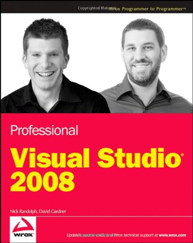 9780470229880: Professional Visual Studio 2008