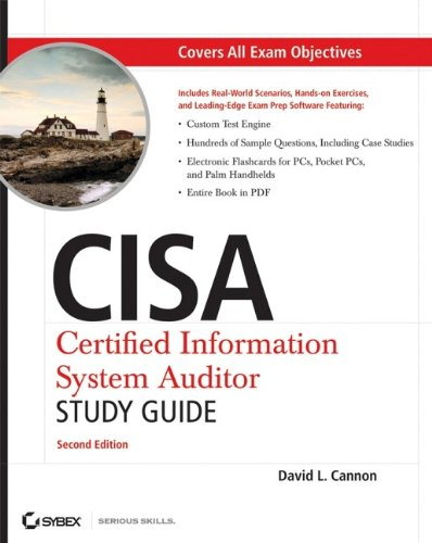 9780470231524: CISA Certified Information Systems Auditor Study Guide