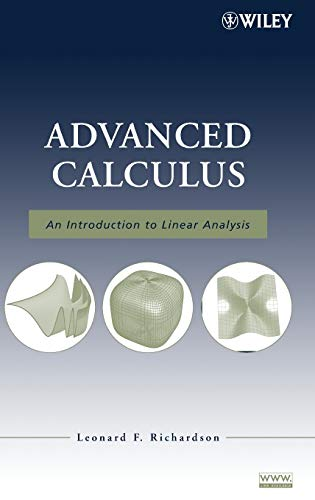 9780470232880: Advanced Calculus: An Introduction to Linear Analysis