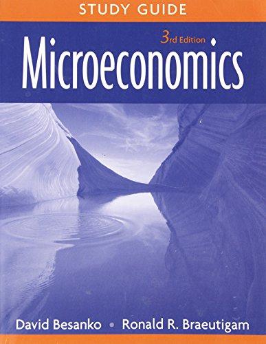 9780470233337: Microeconomics, Study Guide