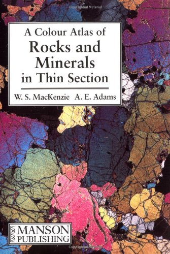 9780470233382: A Color Atlas of Rocks and Minerals in Thin Section