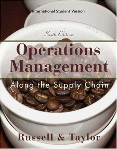 9780470233795: Operations and Supply Chain Management