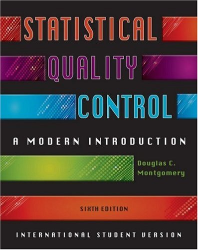 9780470233979: Statistical Quality Control, International Student Version: A Modern Introduction