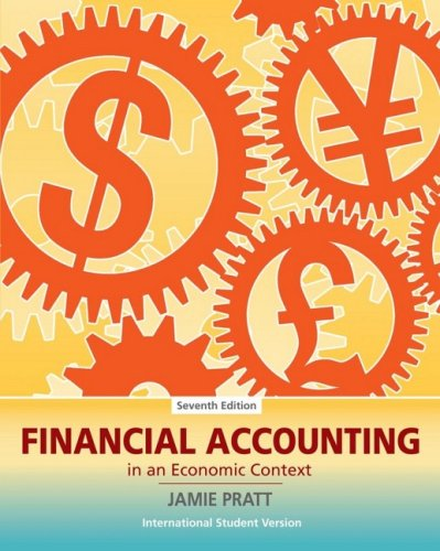 9780470233986: Financial Accounting in an Economic Context