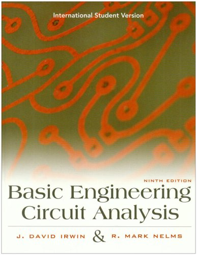 9780470234556: ISV Basic Engineering Circuit Analysis, 9E, International Student Version