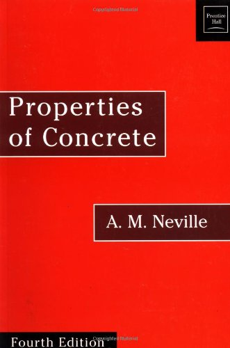 9780470235270: Properties of Concrete: Fourth and Final Edition