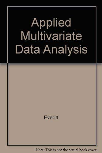 9780470235515: Applied Multivariate Data Analysis