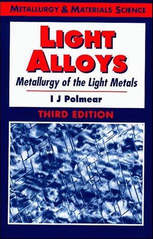 9780470235652: Light Alloys: Metallurgy of the Light Metals (Metallurgy & Materials Science)