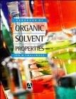 9780470236086: Handbook of Organic Solvent Properties