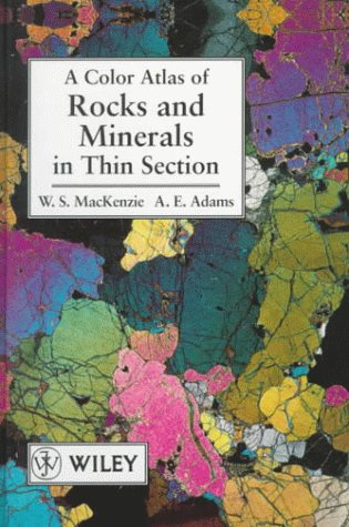 9780470236284: A Color Atlas of Rocks and Minerals in Thin Section