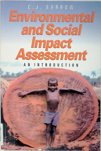9780470237410: Environmental and Social Impact Assessment: An Introduction