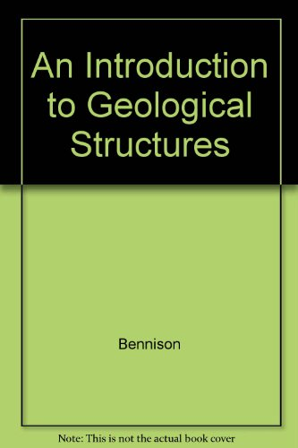 9780470237434: An Introduction to Geological Structures