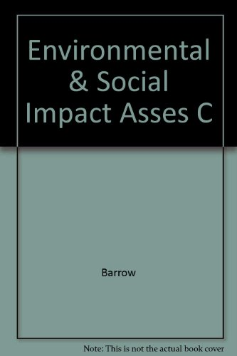 9780470237465: Environmental and Social Impact Assessment: An Introduction
