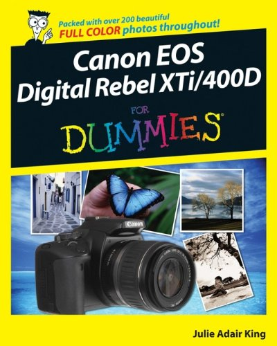 9780470239452: Canon EOS Digital Rebel XTi/400D for D For Dummies