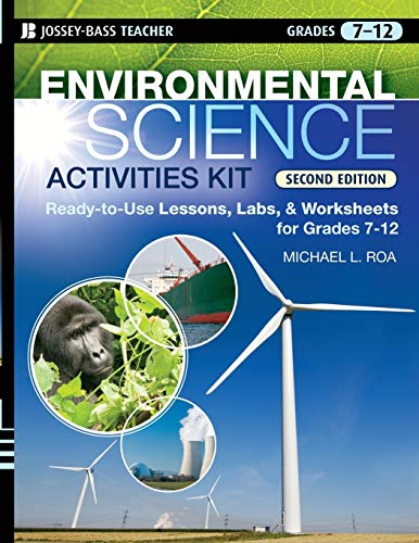 9780470239551: Environmental Science Activities Kit: Ready-to-Use Lessons, Labs, and Worksheets for Grades 7-12