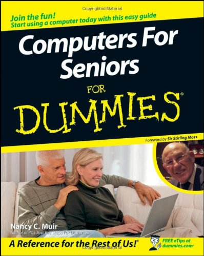 Computers For Seniors For Dummies (For Dummies (Computers)) 9780470240557 This task-oriented, step-by-step guide is specifically written for mature people like you, folks who are relatively new to using a computer and want to discover the basics of buying a computer, working with software, and getting on the Internet. It takes the guesswork, the confusion, and the jargon out of every aspect of getting started, from choosing the computer and software that' are right for you to learning the basics of working with applications and going online, to taking advantage of all that this powerful tool has to offer. You'll discover how to: Choose among desktops, laptops, PCs, and Macs Use the mouse and keyboard Find your way around the desktop Set up and use an email account Work with files and folders, numbers and finances Add a printer, scanner, or fax Take advantage of online and offline Help Have a ball with digital photos and music Browse the Web with Internet Explorer Connect with people online The world is just a mouse-click away and with your shiny new computer and a little help from Computers for Seniors For Dummies, you'll get there safe and sound in no time.