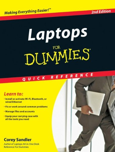Laptops For Dummies Quick Reference: Sandler, Corey