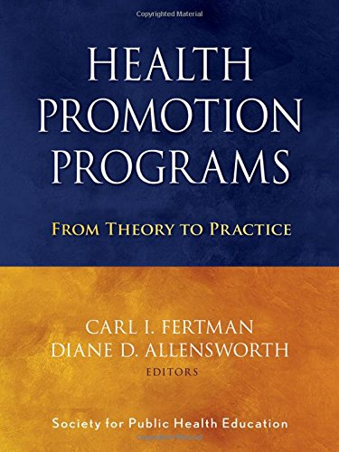 9780470241554: Health Promotion Programs: From Theory to Practice
